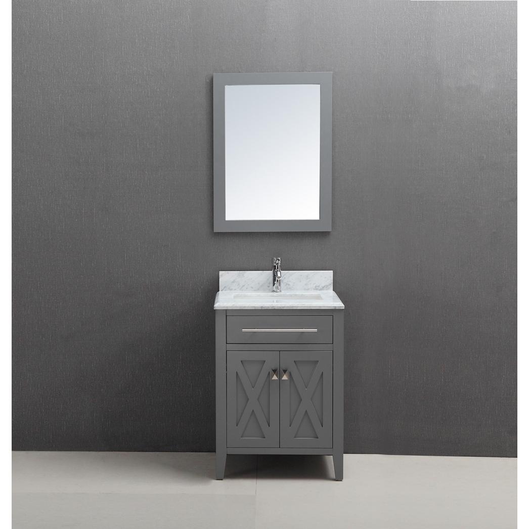 Belvedere Traditional Freestanding Grey