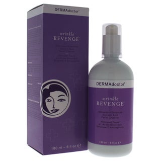 DERMAdoctor Wrinkle Revenge Antioxidant Enhanced Glycolic Acid 6-ounce Facial Cleanser