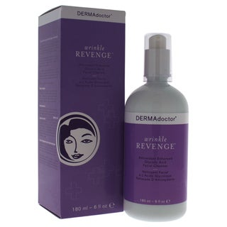 DERMAdoctor Wrinkle Revenge Antioxidant Enhanced Glycolic Acid 6-ounce Facial Cleanser