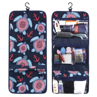 Zodaca Multicolor Sea Turtle Travel Hanging Cosmetic Toiletry Carry Bag Wash Organizer Storage|https://ak1.ostkcdn.com/images/products/16282814/P22645598.jpg?impolicy=medium