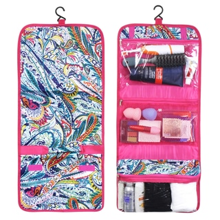 Zodaca Paisley Travel Hanging Cosmetic Toiletry Carry Bag Wash Organizer Storage