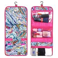 Zodaca Paisley Travel Hanging Cosmetic Toiletry Carry Bag Wash Organizer Storage