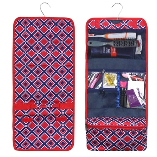 Link to Zodaca Red Times Square Travel Hanging Cosmetic Carry Bag Toiletry Wash Organizer Storage Similar Items in Travel Accessories