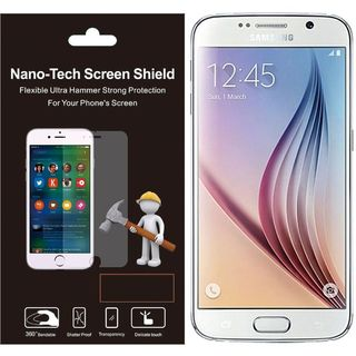 Insten Clear Plastic LCD Screen Protector Film Cover For Samsung Galaxy S6