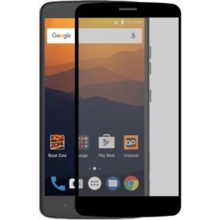 Insten Black/ Clear Tempered Glass LCD Screen Protector Film Cover For ZTE Max XL N9520