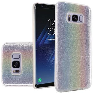 Insten Hard Snap-on Glitter Case Cover For Samsung Galaxy S8 Plus S8+