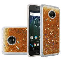 Insten Hard Snap-on Glitter Case Cover For Motorola Moto G5 Plus