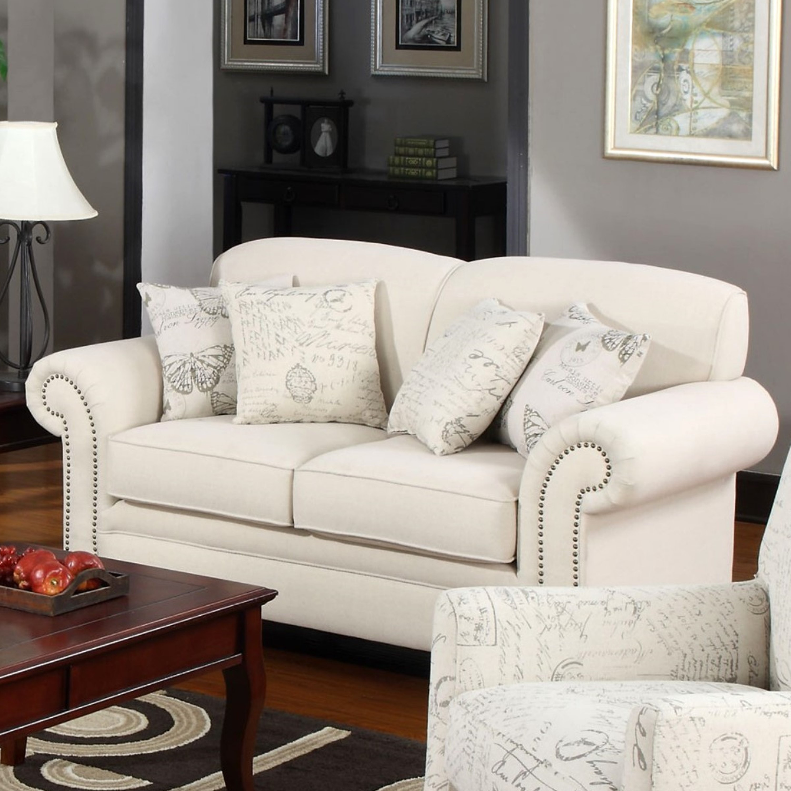 upholtered linen jute leon and french couch modern sofa chanel