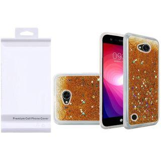 Insten Hard Snap-on Glitter Case Cover For LG X Power 2