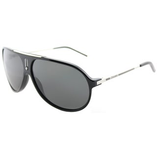 Carrera Hot/S CSA RA Black Palladium Plastic Aviator Sunglasses Grey Polarized Lens