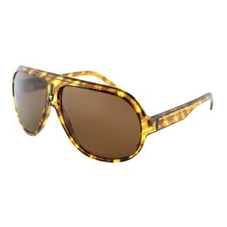 Carrera CA Speedway/S FRI Blush Havana Striated Plastic Aviator Sunglasses Brown Polarized Lens