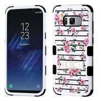 Insten Multi-Color Roses Tuff Hard Snap-on Dual Layer Hybrid Case Cover For Samsung Galaxy S8 Plus S8+