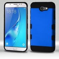 Insten Hard Snap-on Dual Layer Hybrid Metal Case Cover For Samsung Galaxy J7 (2017)/ J7 Perx/ J7 Sky Pro/ J7 V