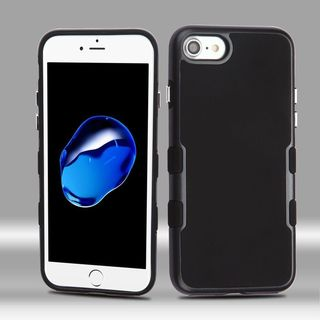 Insten Hard Snap-on Dual Layer Hybrid Metal Case Cover For Apple iPhone 7