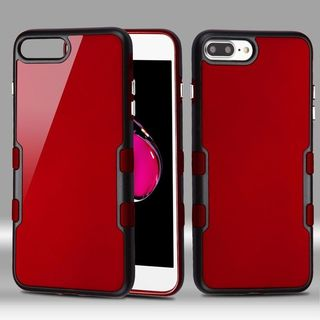 Insten Hard Snap-on Dual Layer Hybrid Metal Case Cover For Apple iPhone 7 Plus