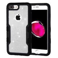 Insten Hard Snap-on Dual Layer Hybrid Glitter Case Cover For Apple iPhone 7 Plus