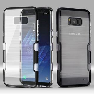 Insten Hard Snap-on Dual Layer Hybrid Metal Case Cover For Samsung Galaxy S8 Plus S8+