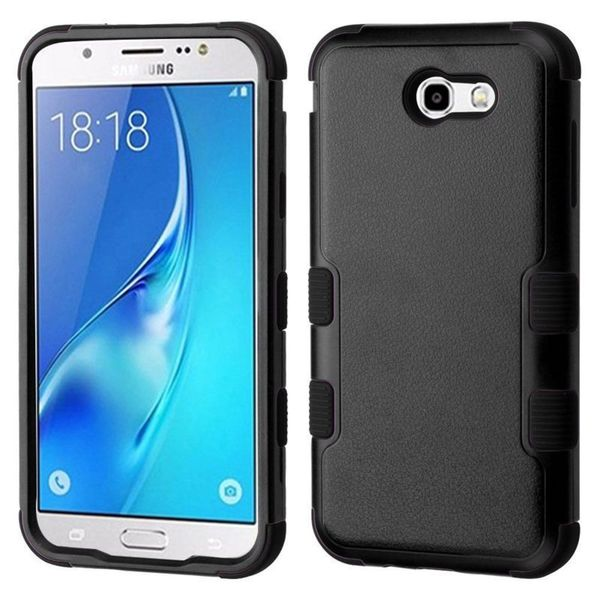 Insten Hard Snap-on Dual Layer Hybrid Case Cover For Samsung Galaxy J7 (2017)/ J7 Perx/ J7 Sky Pro/ J7 V
