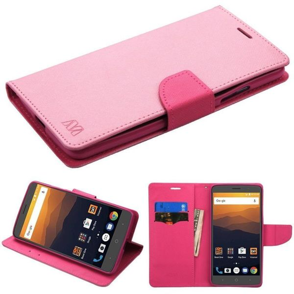 Shop Insten Leather Case Cover with Stand For ZTE Max XL N9520