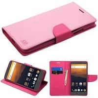 Insten Leather Case Cover with Stand For ZTE Max XL N9520