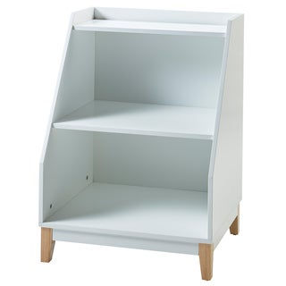 Versanora - Pulire Storage Stand White/Natural
