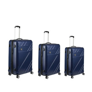 Ful Blade Midnight 3-piece Expandable Hardside Spinner Luggage Set