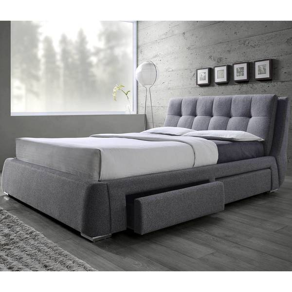 Pleasing Tufted Design Upholstered Storage Bed With Pillow Top Headboard Home Interior And Landscaping Oversignezvosmurscom