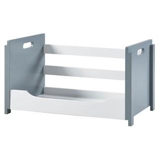 Versanora - Cubo Stacking Storage Unit - B - White/Grey