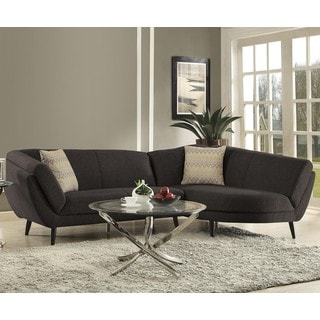 Mid-Century Modern Style Living Room Sectional Sofa