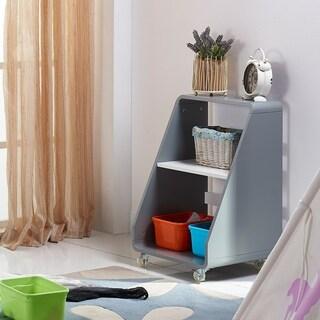 Versanora - Pulire Storage Cart - Grey/White