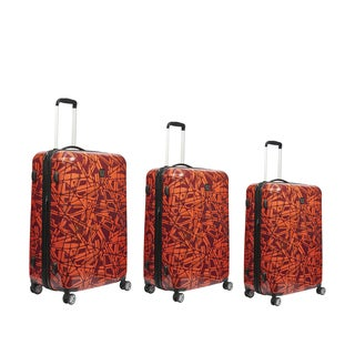 Ful Grunge 3-piece Expandable Hardside Spinner Luggage Set