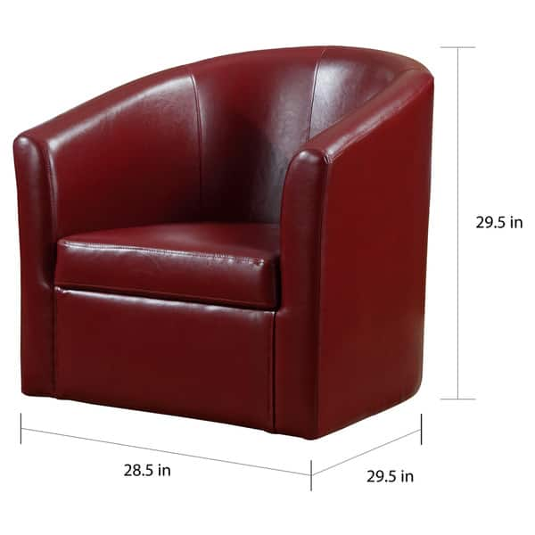 Prime Shop Living Room Barrel Style Red Upholstered Swivel Accent Unemploymentrelief Wooden Chair Designs For Living Room Unemploymentrelieforg