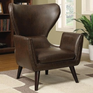 Living Room Uniquely Shaped Accent Chair
