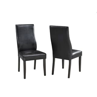 Brassex Scottsdale Side Chair, Set of 2, Espresso