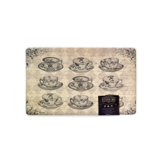 """Home Fashion Designs Arlo Collection Printed Anti-Fatigue Kitchen Comfort Mat (18"""" x 30"""") - 18"""" x 30"""" (4 options available)"""