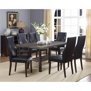 Brassex Scottsdale Walnut Wood 7-piece Dining Set