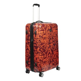 Ful Grunge 21-inch Carry On Expandable Hardside Spinner Suitcase