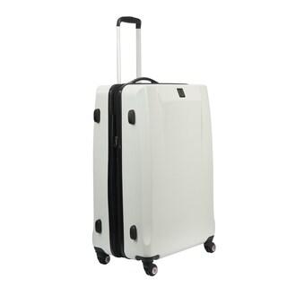 Ful High Loader White 25-inch Hardside Spinner Upright Suitcase