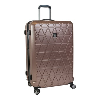 Ful Triangle Gold 25-inch Hardside Spinner Upright Suitcase