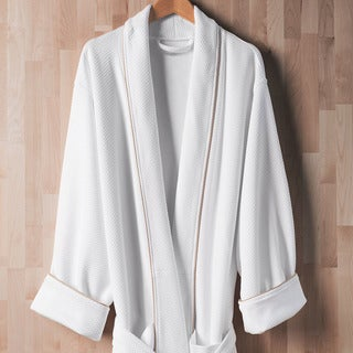 Sleep like a King Luxury Diamond Knit Robe Collection Designed by Larry and Shawn King