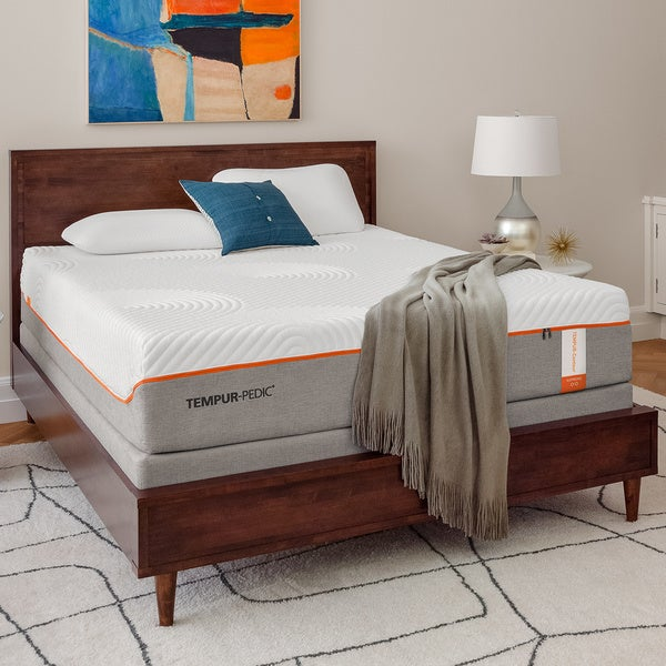 shop tempur contour supreme 11 5 inch king size memory foam mattress free shipping today. Black Bedroom Furniture Sets. Home Design Ideas