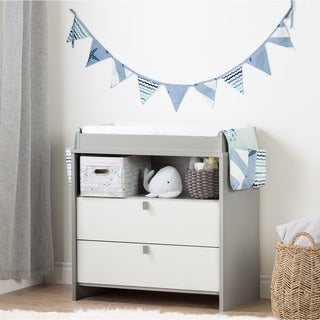 South Shore Cookie Changing Table Runner and Pennant Banner (Option: Blue)