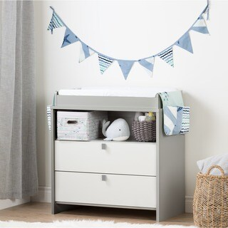 South Shore Cookie Changing Table Runner and Pennant Banner