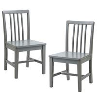 Versanora Kids - Pittore Set of 2 Basic Chairs - Grey