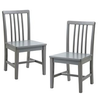 Versanora Kids - Pittore Set of 2 Basic Chairs - Grey
