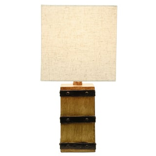 Campbell Square Barrel Accent Lamp
