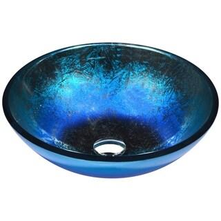 ANZZI Oceana Series Vessel Sink in Blue