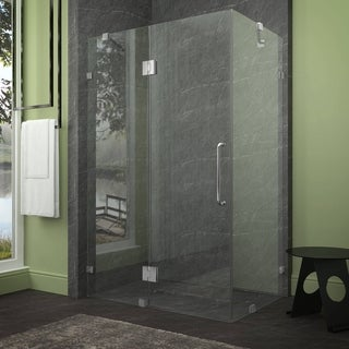 ANZZI Archon 46 in. x 72 in. Frameless Shower Door - Polished Chrome