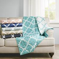 Madison Park Essentials Concord Oversized Reversible Quilted Throw