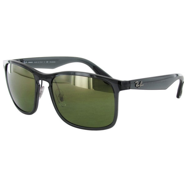 d87ba5955f33b Ray Ban Chromance RB4264 Grey Frame Green Polarized Lens Sunglasses. Click  to Zoom